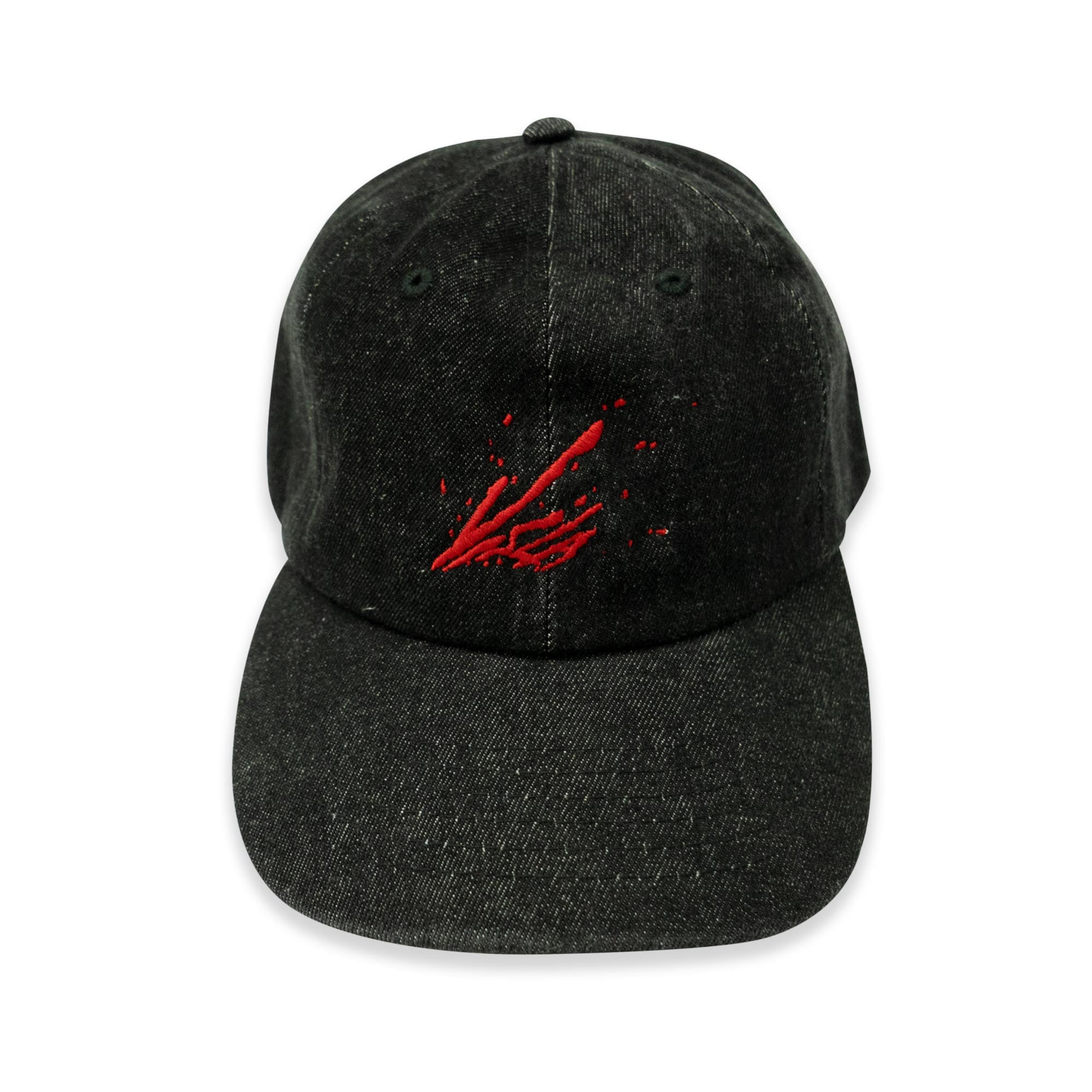 DEATH BLOW BALL CAP - DENIM BLACK