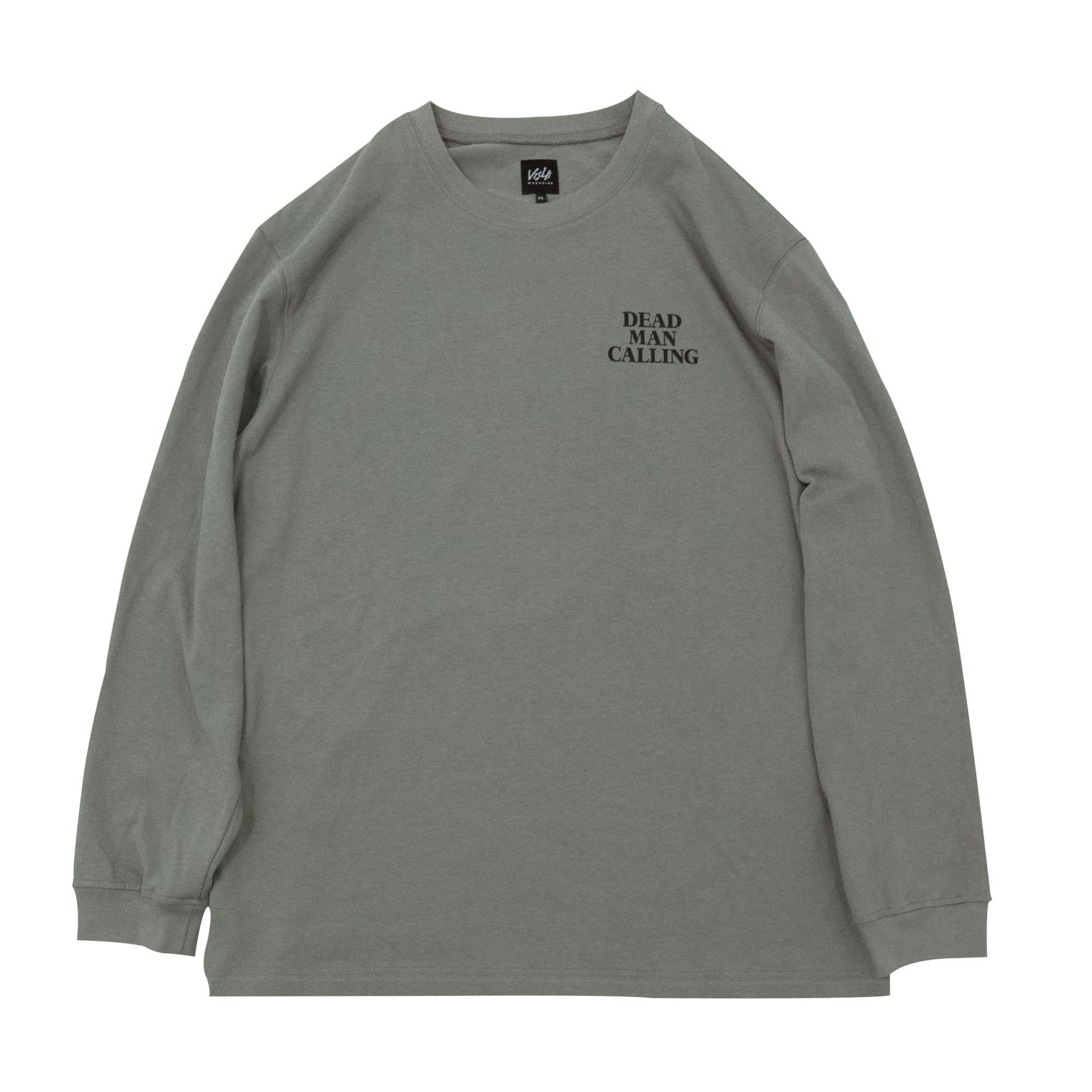 DEATH BLOW LONG SLEEVE - GREY