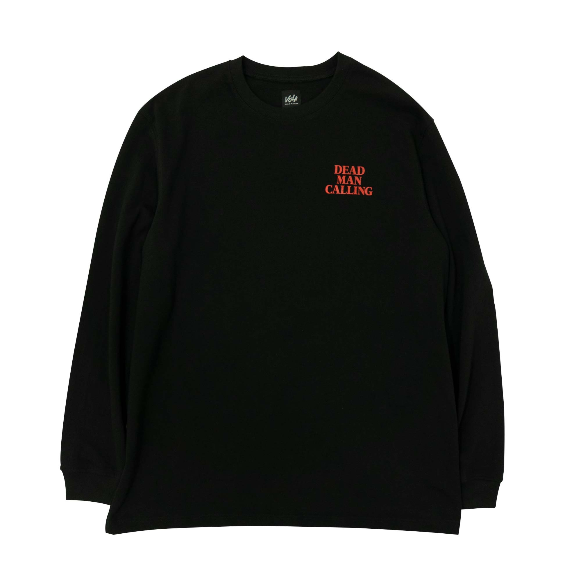DEATH BLOW LONG SLEEVE - BLACK