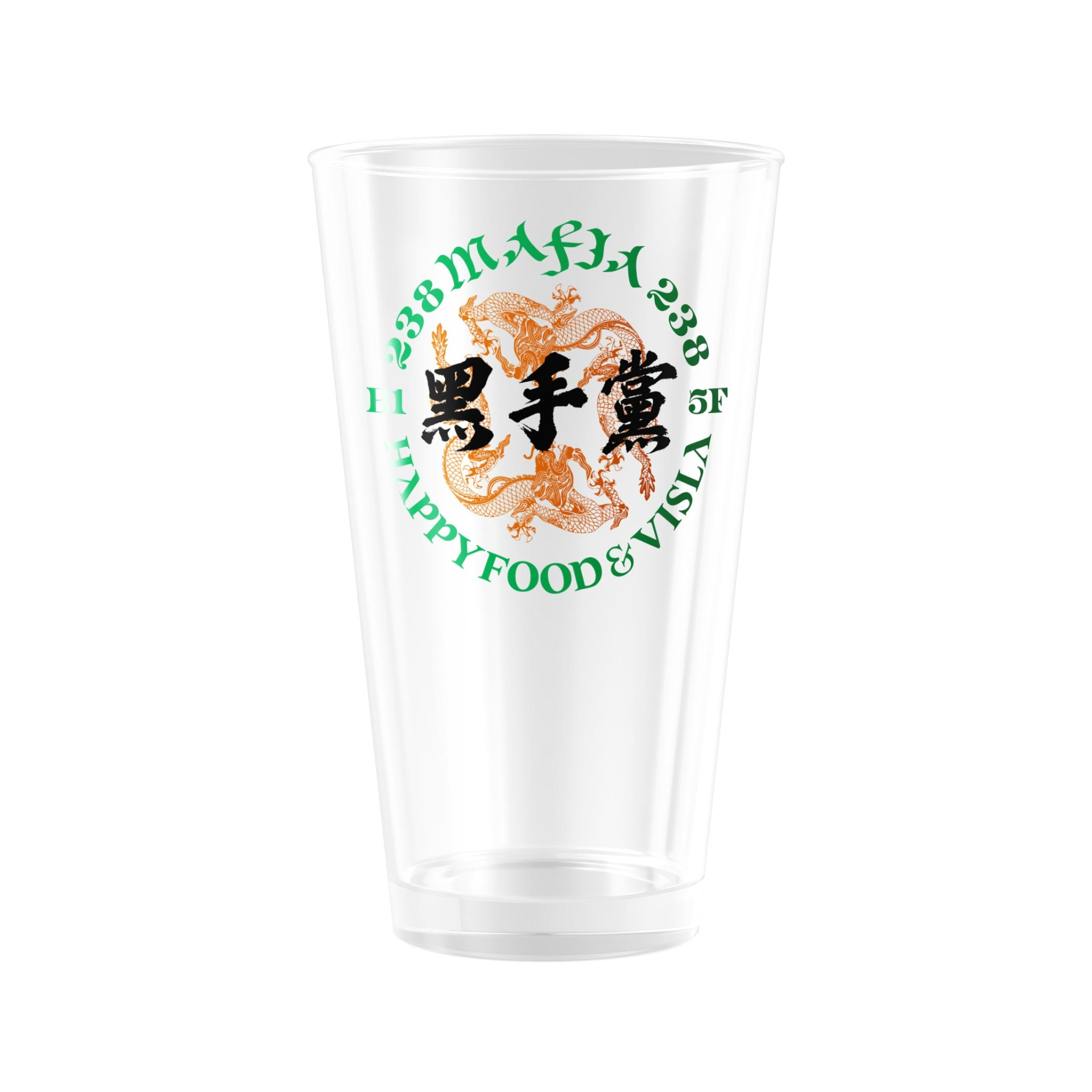 HAPPY FOOD x VISLA 238 MAFIA Beer mug